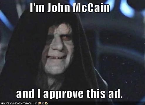 I'm John McCain  and I approve this ad.