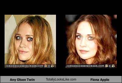 Any Olsen Twin TotallyLooksLike.com Fiona Apple