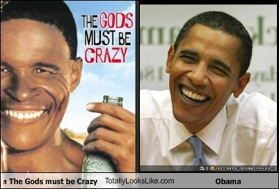 The guy from The Gods must be Crazy TotallyLooksLike.com Obama