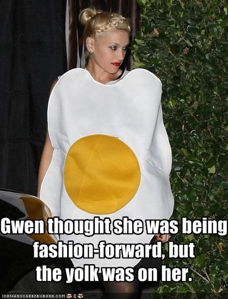 Gwen thought she was being