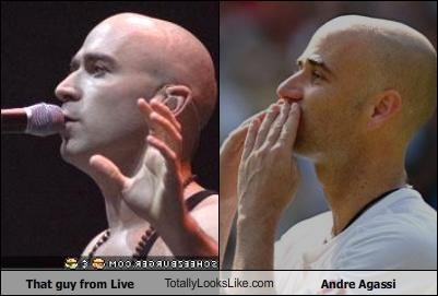 That guy from Live TotallyLooksLike.com Andre Agassi