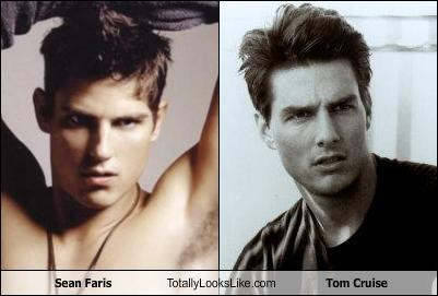 Sean Faris Totally Looks Like Tom Cruise