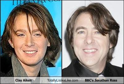 Clay Aiken Totally Looks Like BBC's Jonathan Ross