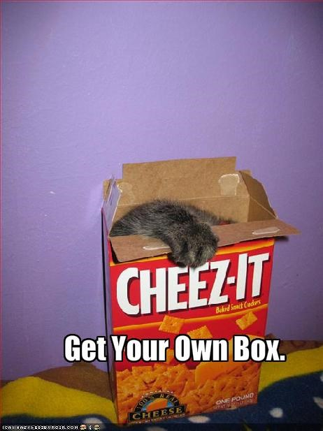 Get Your Own Box.