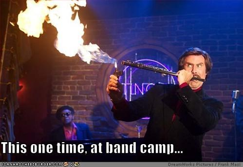 This one time, at band camp...