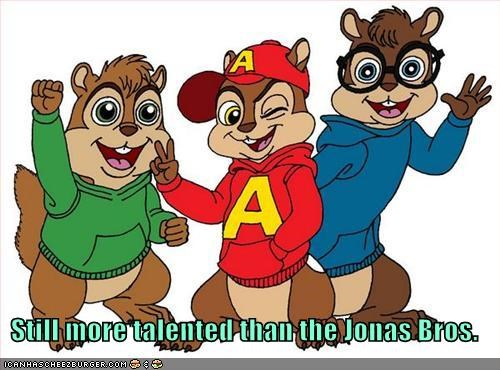 Still more talented than the Jonas Bros.