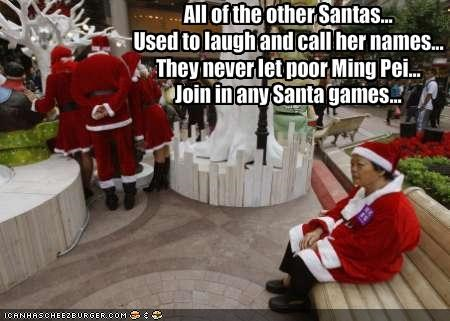 All of the other Santas...