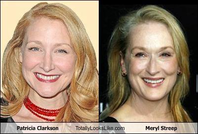 Patricia Clarkson Totally Looks Like Meryl Streep