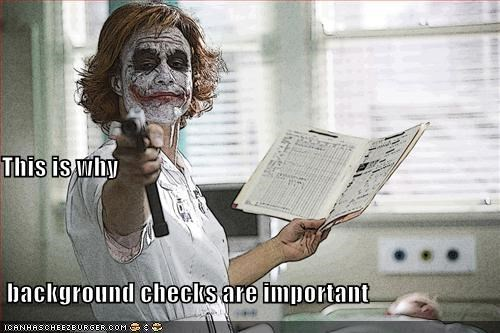 This is why  background checks are important