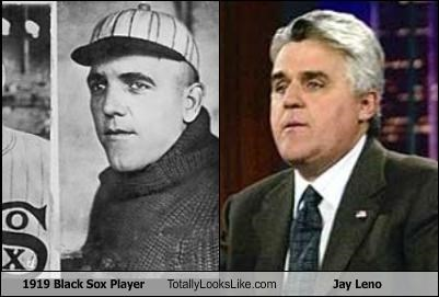 1919 Black Sox Player Totally Looks Like Jay Leno