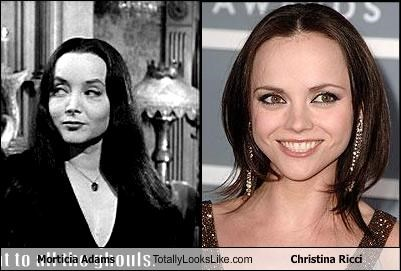 Morticia Adams Totally Looks Like Christina Ricci