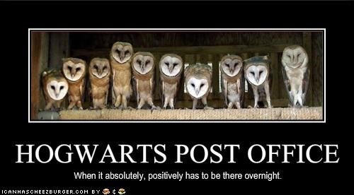 HOGWARTS POST OFFICE