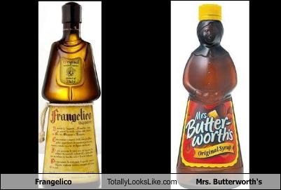 Frangelico Totally Looks Like Mrs. Butterworth's