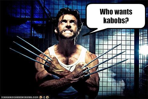 Who wants kabobs?