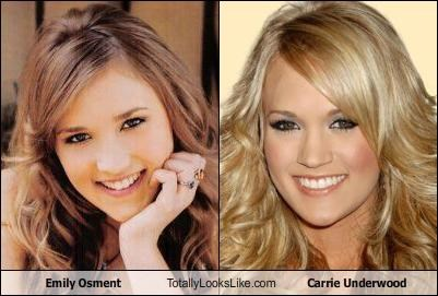 Emily Osment Totally Looks Like Carrie Underwood