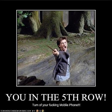 YOU IN THE 5TH ROW!