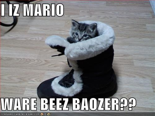 I IZ MARIO  WARE BEEZ BAOZER??