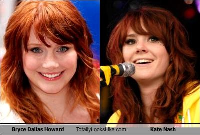 Bryce Dallas Howard Totally Looks Like Kate Nash