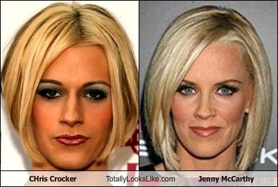 CHris Crocker Totally Looks Like Jenny McCarthy