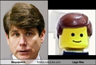 Blagojevich Totally Looks Like Lego Man