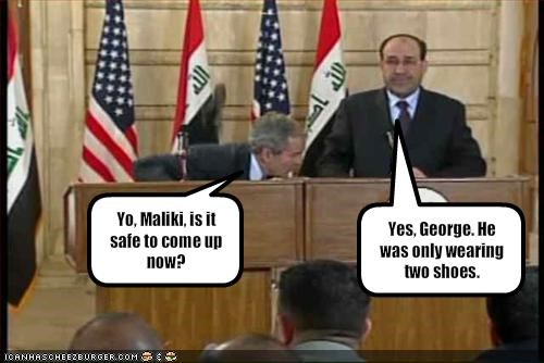 Yo, Maliki, is it safe to come up now?