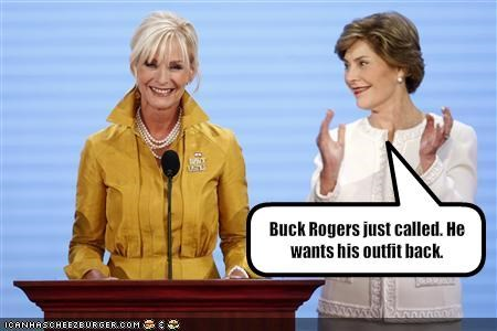 Cindy McCain,Laura Bush,Republicans