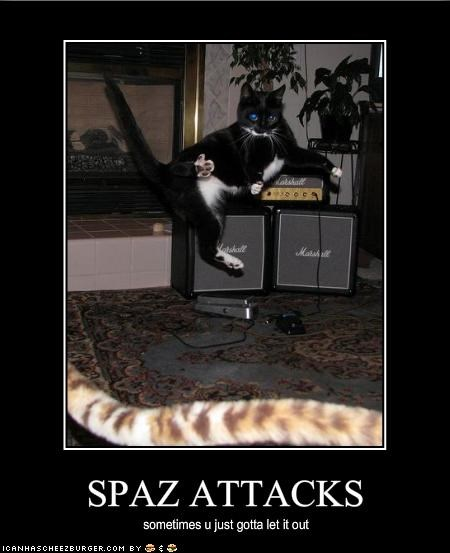 SPAZ ATTACKS