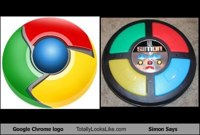 Google Chrome logo Totally Looks Like Simon Says