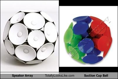 Speaker Array Totally Looks Like Suction Cup Ball