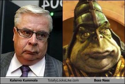 Kalervo Kummola Totally Looks Like Boss Nass