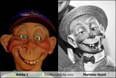 Bubba J,Mortimer Snerd