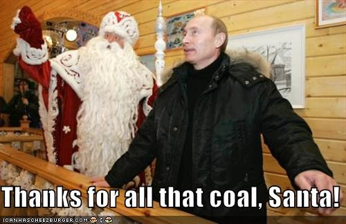 Thanks for all that coal, Santa!