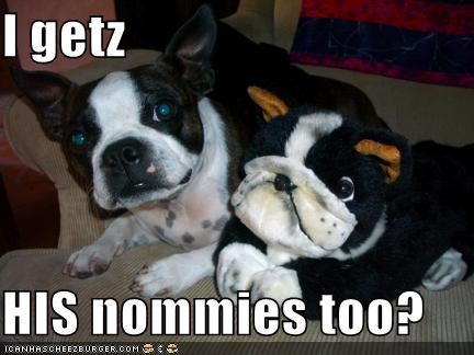 I getz  HIS nommies too?