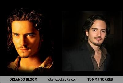ORLANDO BLOOM Totally Looks Like TOMMY TORRES