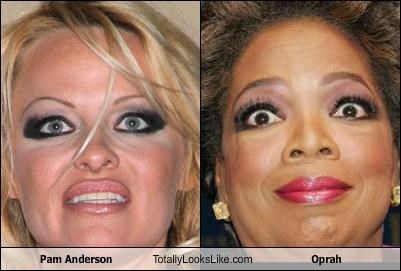 Pam Anderson Totally Looks Like Oprah