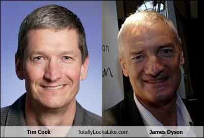 Tim Cook Totally Looks Like James Dyson
