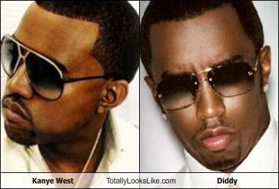 Kanye West Totally Looks Like Diddy