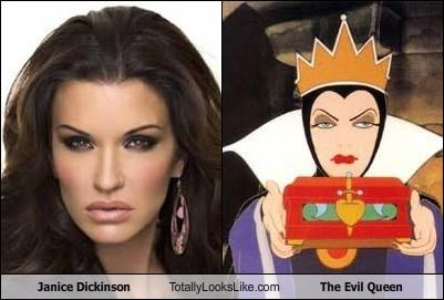 Janice Dickinson Totally Looks Like The Evil Queen