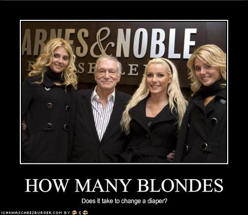 HOW MANY BLONDES
