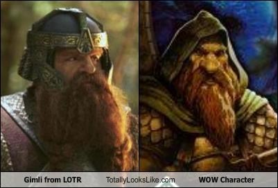 Gimli from LOTR Totally Looks Like WOW Character