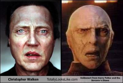 Christopher Walken Totally Looks Like Voldemort from Harry Potter and the Sorceror's Stone