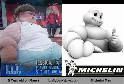5 Year old on Maury Totally Looks Like Michelin Man