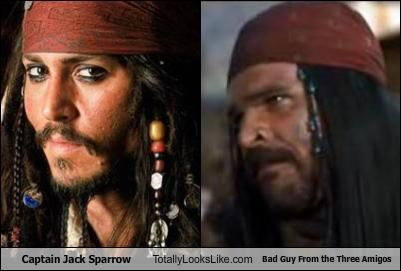 Captain Jack Sparrow Totally Looks Like Bad Guy From the Three Amigos