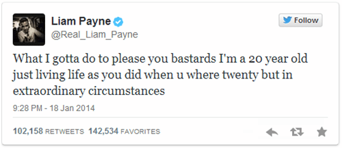 Liam Payne From One Direction is in Hot Water Over Tweets He Sent