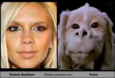 Victoria Beckham Totally Looks Like Falcor