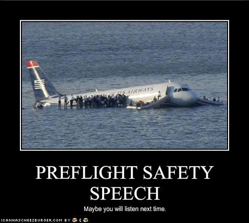 PREFLIGHT SAFETY SPEECH