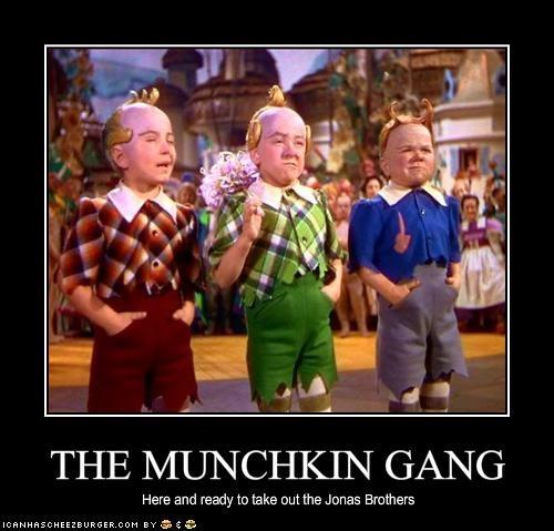 THE MUNCHKIN GANG