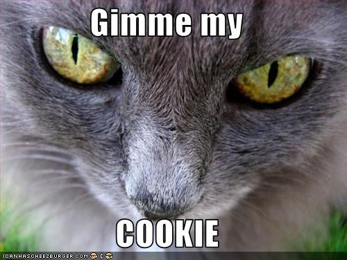 Gimme my  COOKIE