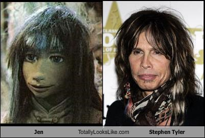 Jen Totally Looks Like Stephen Tyler