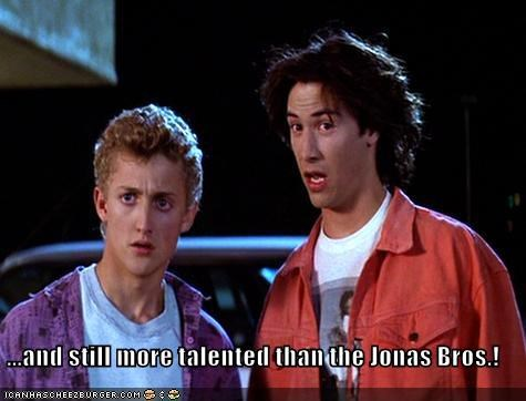 ...and still more talented than the Jonas Bros.!